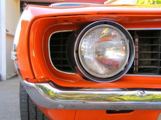 1969 Camaro SS 396 For Sale - Front Right Headlight