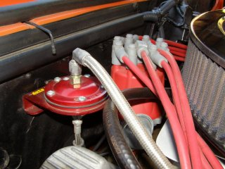 1969 Camaro SS 396 For Sale - Fuel Pressure Isolator MSD Billet Distributor