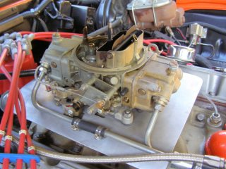 1969 Camaro SS 396 For Sale - Holley 650 Double Pump Fuel Lines Right Side