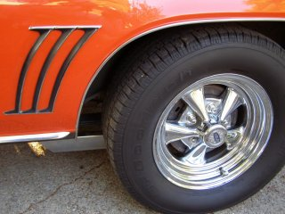 1969 Camaro SS 396 For Sale - Left Rear Crager SS Wheel