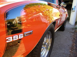 1969 Camaro SS 396 For Sale - Left Side Gloss