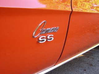 1969 Camaro SS 396 For Sale - Left Side SS Emblem Badge