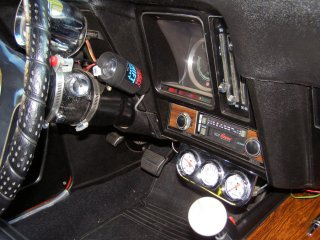 1969 Camaro SS 396 For Sale - MSD Shift Light Gauges