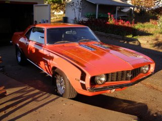 1969 Camaro SS 396 For Sale - Overall Front Right Corner 2