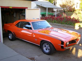 1969 Camaro SS 396 For Sale - Overall Front Right Corner