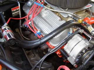 1969 Camaro SS 396 For Sale - Right Valve Cover MSD Wires Coil Heater Hoses