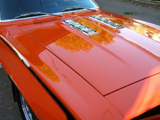 1969 Camaro SS 396 For Sale - Top Right Corner of Hood