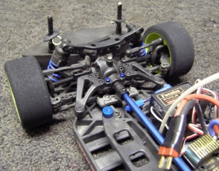 Team Associated TC3 Lot - Front Gearbox Steering Rack