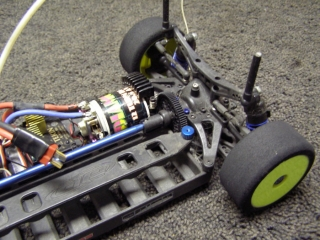 Team Associated TC3 Lot - Rear Gearbox Main Gear Motor
