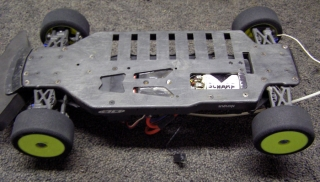 Team Associated TC3 Lot - Underside