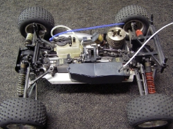 Kyosho TR15 TR-15 Stadium Truck - Chassis Body Off