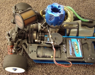 Team Associated NTC3 Nitro TC3 Lot - Engine O.S. OS .18 TZ