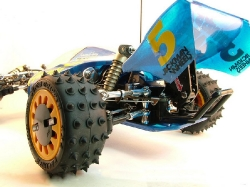 Tamiya Avante 58072 - Left Rear Wheel and Suspension