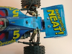 Tamiya Avante 58072 - Over Rear Body and Wing