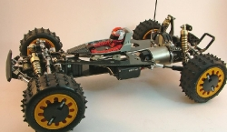 Tamiya Avante 58072 - Overall Left with Driver and No Body