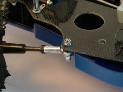Tamiya Avante 58072 - Right Rear Trailing Arm Close-Up