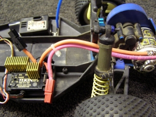 Team Associated B3 - Electronics Tekin ESC Wiring
