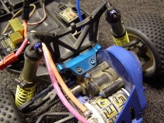 Team Associated B3 - Over Stealth Tranny Trinity Diamond Motor