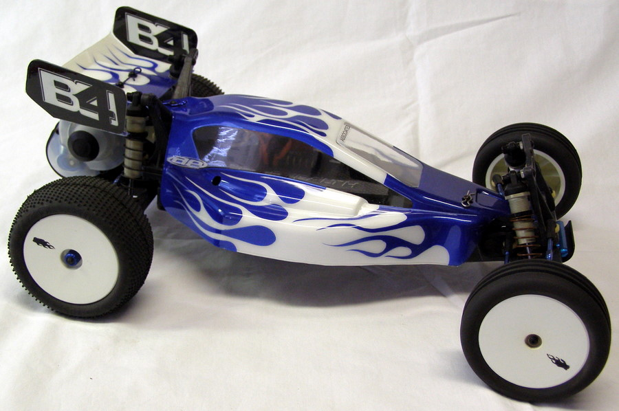 Team-Associated-B4-Factory-Team-with-Blue-Flames-Right-Side